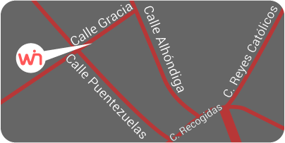 Mapa de ubicación de Grupo Winecta