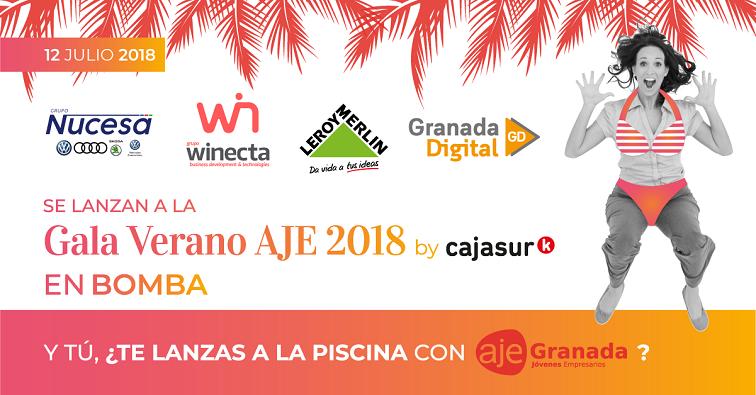Gala de Verano AJE, patrocinada por Grupo Winecta