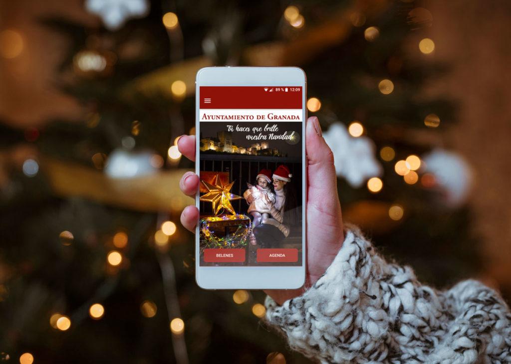 Navidad en Granada 2018, nueva app de Grupo Winecta y Ayuntamiento de Granada