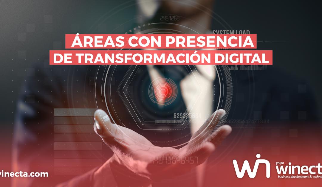 Principales áreas de transformación digital