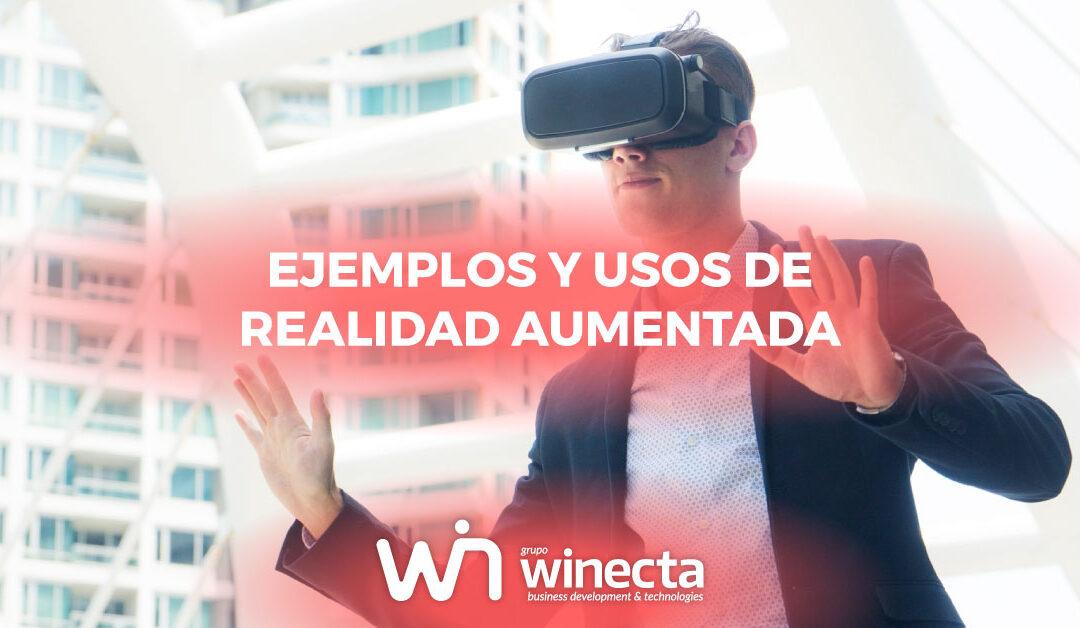 Ejemplos y usos de realidad aumentada