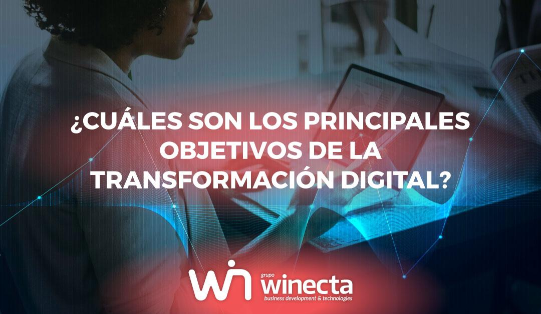 Principales objetivos de la transformación digital